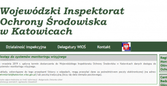 Monitoring on-line dla WIOŚ